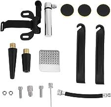 DOITOOL Fiets Reparatie Kits met Manometer Pomp Mini Fietspomp met Smart Valve Fiets Platte Band Reparatie Gereedschap Fie...