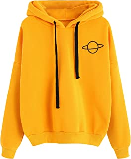 yellow hooded jumper