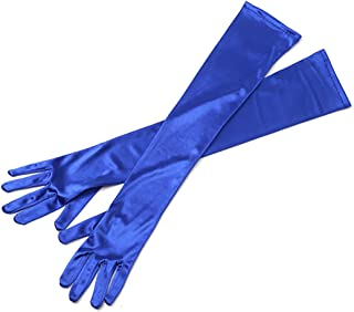 Utopiat Audrey Styled Replica Holly Golightly Satin Opera Gloves for Women