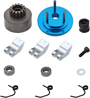 Hobbypark RC 14T Clutch Bell Shoes Springs Bearings Flywheel Assembly Kit Set for HSP Redcat Racing 1:8 Scale Model Car 21-28cxp Nitro Engine Parts