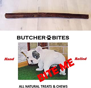 Butcher Bites, BITE ME Beef Pizzle 'Bully Stick' 12