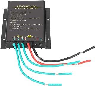 Gind Contrôleur de Charge MPPT, contrôleur d'éolienne en Alliage d'aluminium à Coque en Aluminium épaissie Simple à Utilis...
