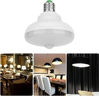 LED Bulb, LED Motion Sensor Bulb, Energy-Saving Unique Design Intelligent Light Control for Corridor in Home Corridor(Whit...