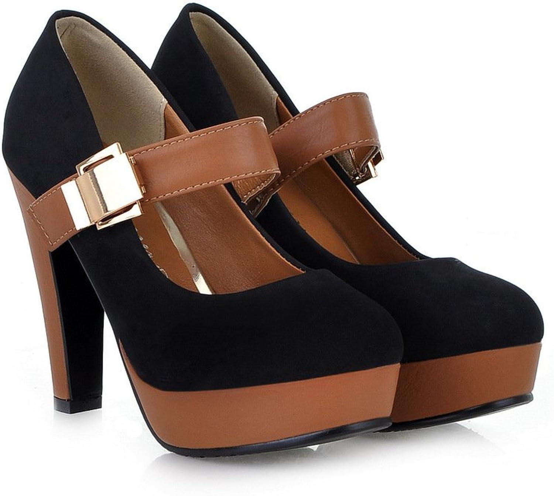 Open Toe Platform Stilettos Ankle Corss Strap Buckle Snap High Heels Pumps