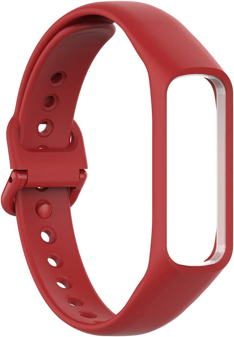 Malla para reloj Samsung Galaxy Fit 2 (silicona, rojo)