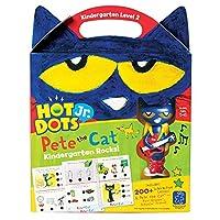 Educational Insights Hot Dots Jr Pete The Cat Kindergarten Rocks! with Pete Pen (2454)