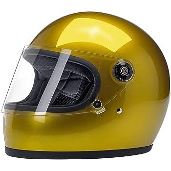 Casco Integrale Biltwell Gringo S Gloss Agave Lucido Helmet Vintage Retr/ò Anni 70 Custom Chopper Bobber Taglia M