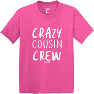 Crazy Cousin Crew - Cute Funny Infant/Toddler Cotton Jersey T-Shirt