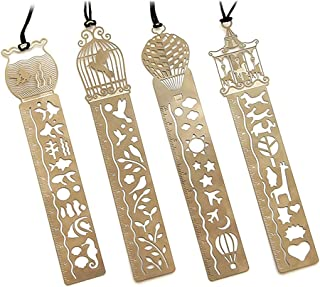Simpatico segnalibro in lega squisita creativa con fiocco di neve con confezione regalo