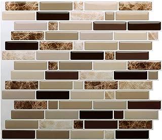 Premium Kitchen Backsplash Peel and Stick Tile,Stick On Backsplash Wall Tiles for Bathroom-Self Adhesive-10.62