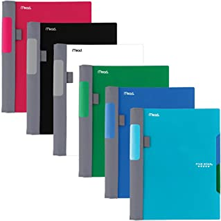 Five Star Advance Spiral Notebooks, 2 Subject, College Ruled Paper, 100 Sheets, 9-1/2