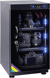 AUTENS TWAIPO 65L Electronic Dehumidify Dry Cabinet Box Anti-Mold Storage with Touchscreen, LED Light, Adjustable Shelves ...