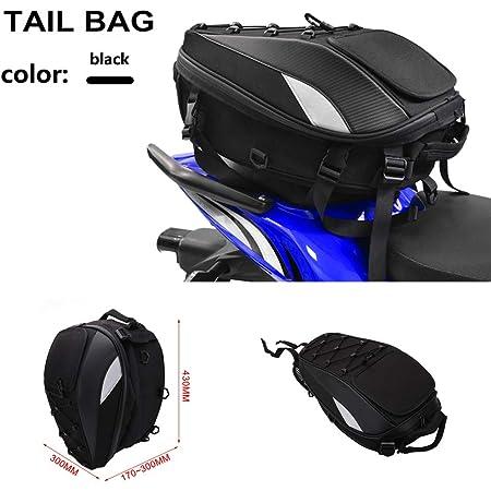 Universal Motorrad Satteltasche Hecktasche Wasserdichte Werkzeugtasche Aufbewahrungstasche Schwarz Auto