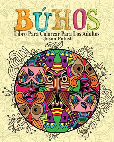 Búhos Libro Para Colorear Para Los Adultos