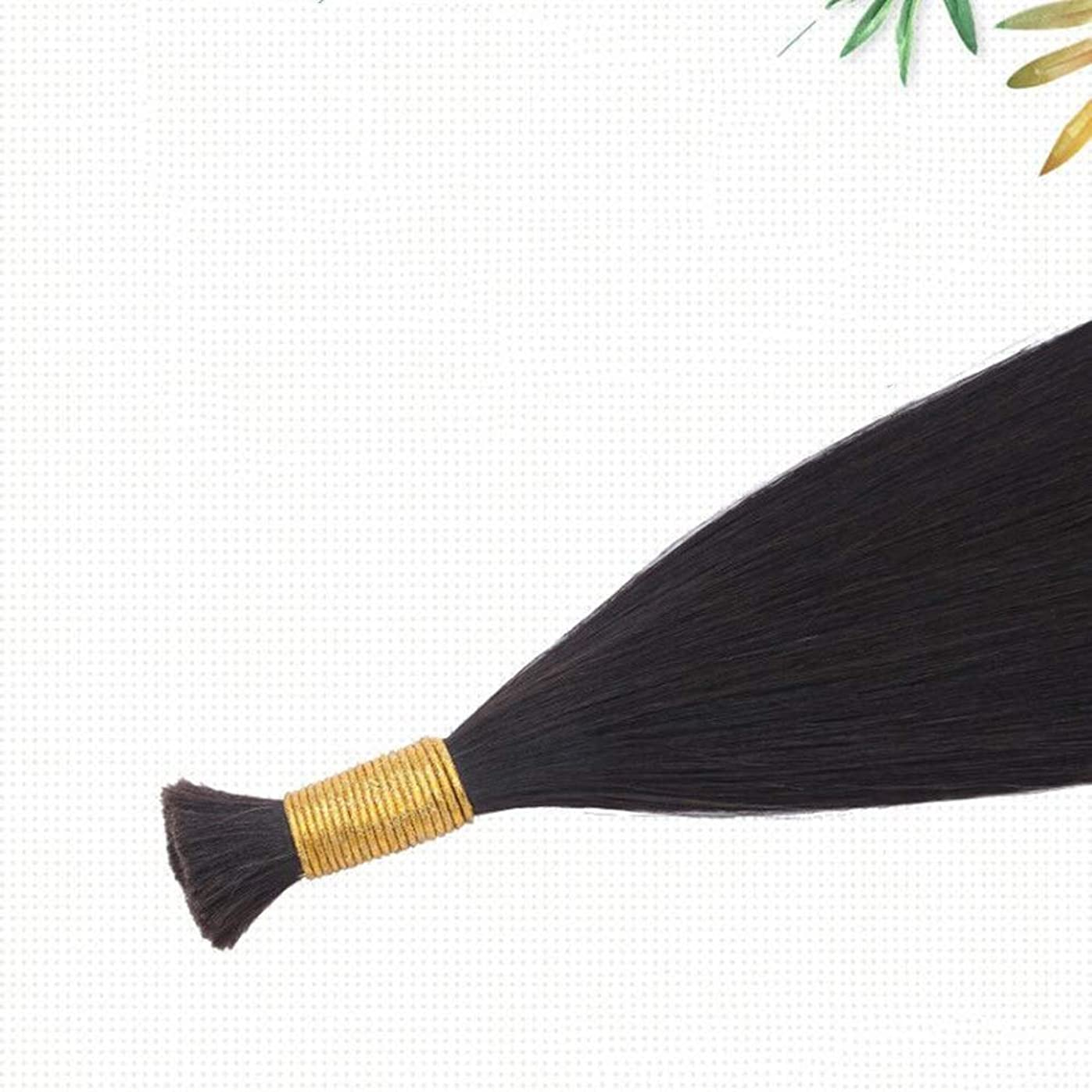 確執含意薄暗いJULYTER ナノリングヘアエクステンション100%存在する人間の髪の毛マイクロナノ50G /フリーリングは含まれています(生物学的色) (色 : Natural color, サイズ : 70cm)