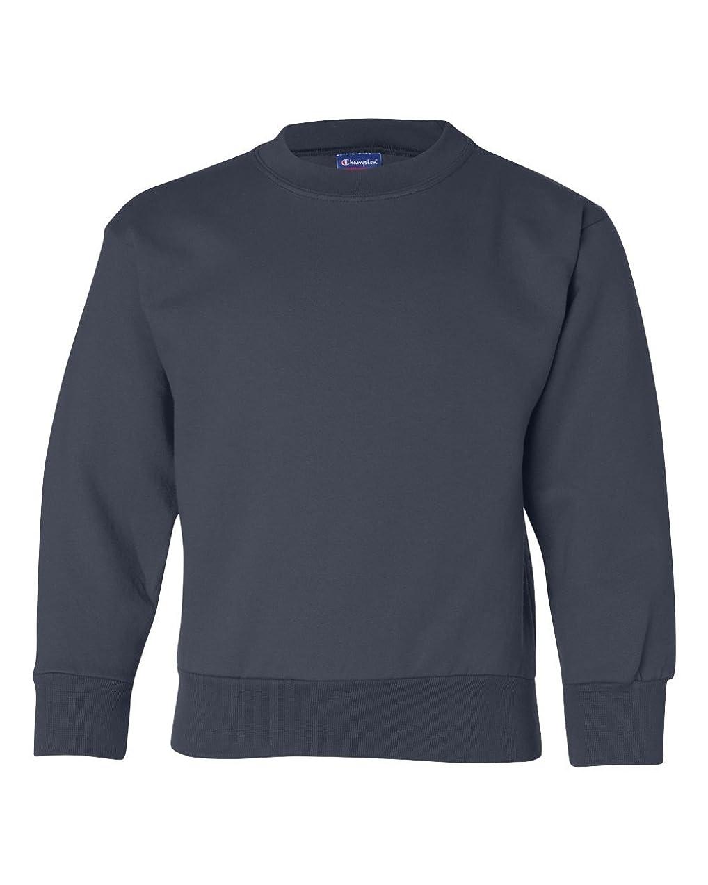 融合特性ボスChampion Double Dry? Action Fleece Kids Sweatshirt, XL-Navy