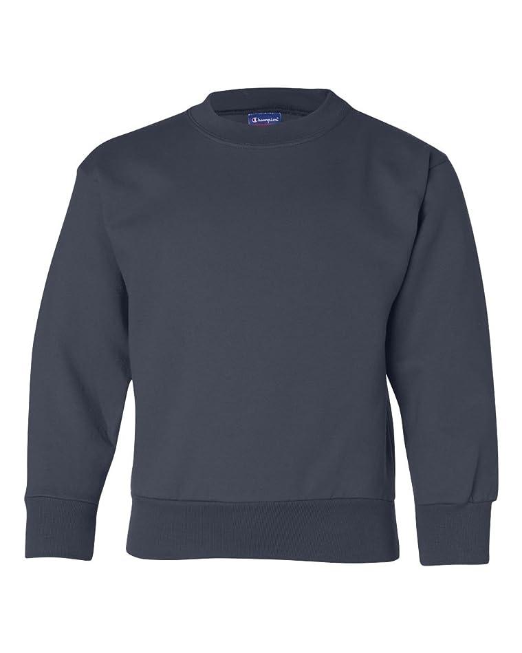 孤独挑む冊子Champion Double Dry? Action Fleece Kids Sweatshirt, XL-Navy