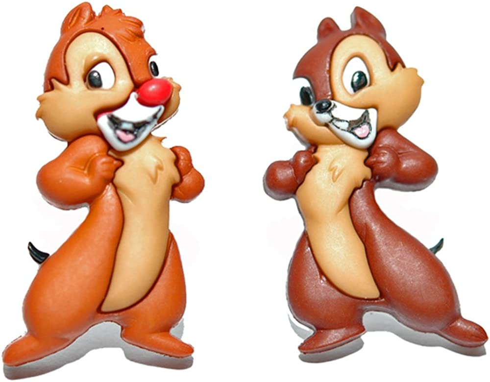 Adorable Chip Dale Import Standing Earrings Stud S054 Disney online shopping