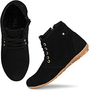 Denill Comfortable, Stylish Ankle Boots for Women and Girls