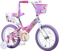 دراجة تيتان فلاور برينسيس بي ام اكس للبنات باللون الوردي، 40.64 سم