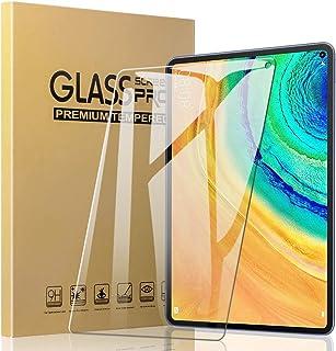 Huawei MatePad pro フィルム 日本旭硝子素材採用 A-VIDET Huawei MatePad pro 10.8インチ ガラスフィルム 【2020年最新】気泡防止 9H硬度 耐指紋 自動吸着 高透過率