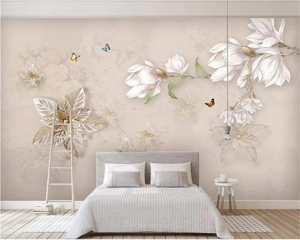 ZCLCHQ Large In stock Photo Wallpaper Ima Decoration PinkFlowers Picture [Alternative dealer]
