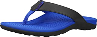 Everhealth Orthotic Thong Sandals Men's Flip Flops with Comfort Arch Support for Plantar Fasciitis, Flat Feet, Heel & Ankle Pain – Stylish Toe Post Sandal Outdoor Slippers for Walking