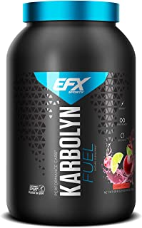 EFX Sports Karbolyn Fuel   Pre, Intra, Post Workout Carbohydrate Supplement Powder   Carb Load, Energize, Improve & Recove...