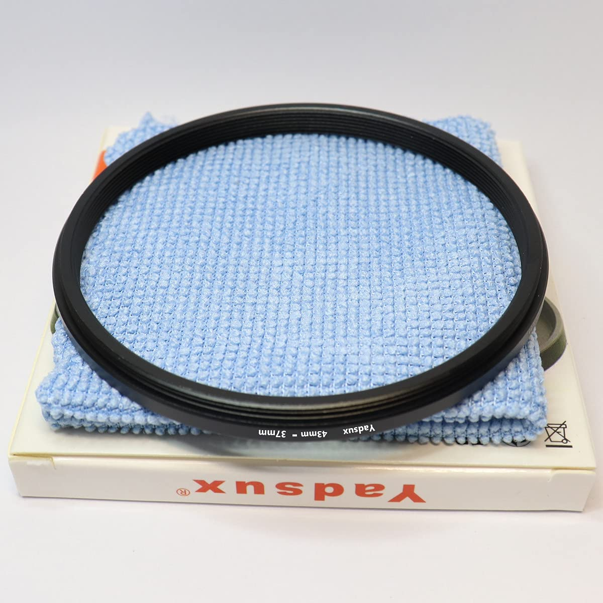 43mm to 37mm Step-Down Lens Adapter Ring for Camera Lenses Filte