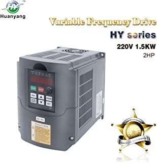 VFD 220V 1.5KW 2hp Variable Frequency Drive CNC Motor Inverter Converter for Spindle..
