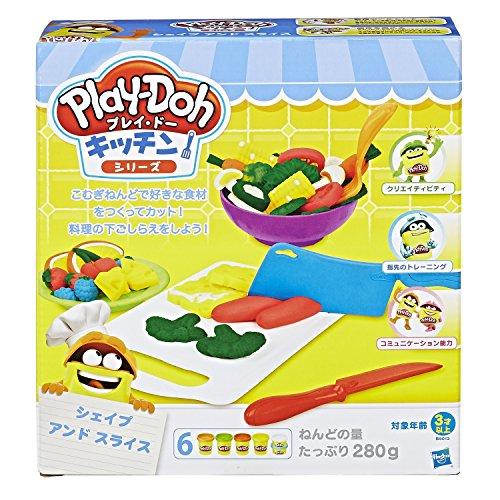 Hasbro(ハズブロ)プレイ・ドー『キッチンシリーズシェイプアンドスライス』