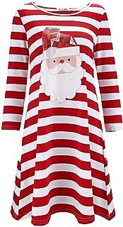 Best christmas print dress plus size Reviews