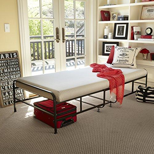 Zinus Memory Foam Getaway Premier Folding Guest Bed, Twin