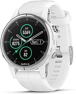Garmin Fenix 5S Plus Sapphire Smartwatch, Wit