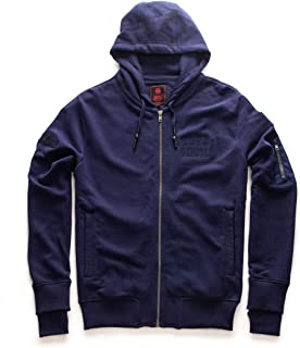 Royal Enfield Navy Cotton Sweatshirt for Men Size (L) 42 CM (RLASSL000081)