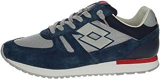 Lotto Leggenda Scarpe L58233 25A Tokyo Shibuya Blu Uomo Moda Casual Sneakers