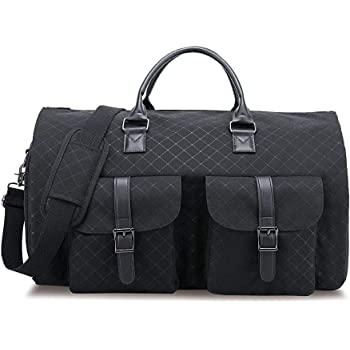 With Powerbank Mens Suit Travel Bags Convertible Garment Duffle Bag for Men Large Folding Luggage
