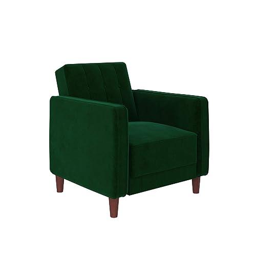 Green Velvet Chair Amazon Com