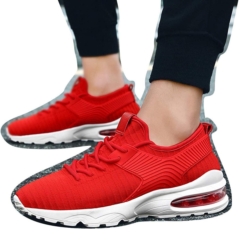 9cc0b09d39e97 Men's Tide White Air Cushion Mesh Casual shoes Men's shoes ...