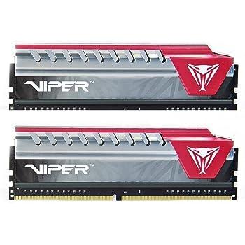Patriot Memory Viper Elite Series DDR4 8GB (2 x 4GB) 2800MHz Kit (Red) PVE48G280C6KRD