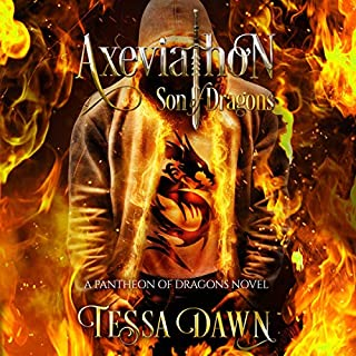 Axeviathon - Son of Dragons: A Pantheon of Dragons Novel audiobook cover art