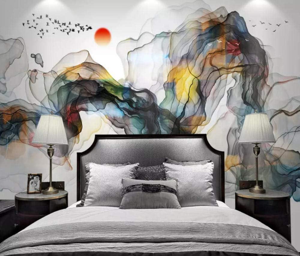 New Shipping Free 3D Wallpaper Custom Silky ofWallpaper Landscape Abstract Oil Long-awaited