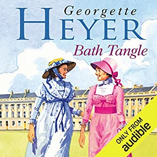 Bath Tangle                   By:                                                                                                                                 Georgette Heyer                               Narrated by:                                                                                                                                 Sian Phillips                      Length: 12 hrs     188 ratings     Overall 4.4