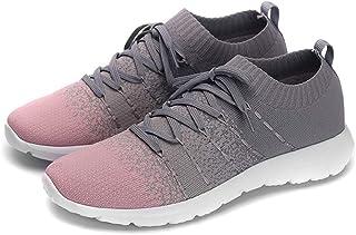 PresaNew Women's Athletic Walking Sneakers Lightweigh Casual Mesh Comfortable Walk Shoes