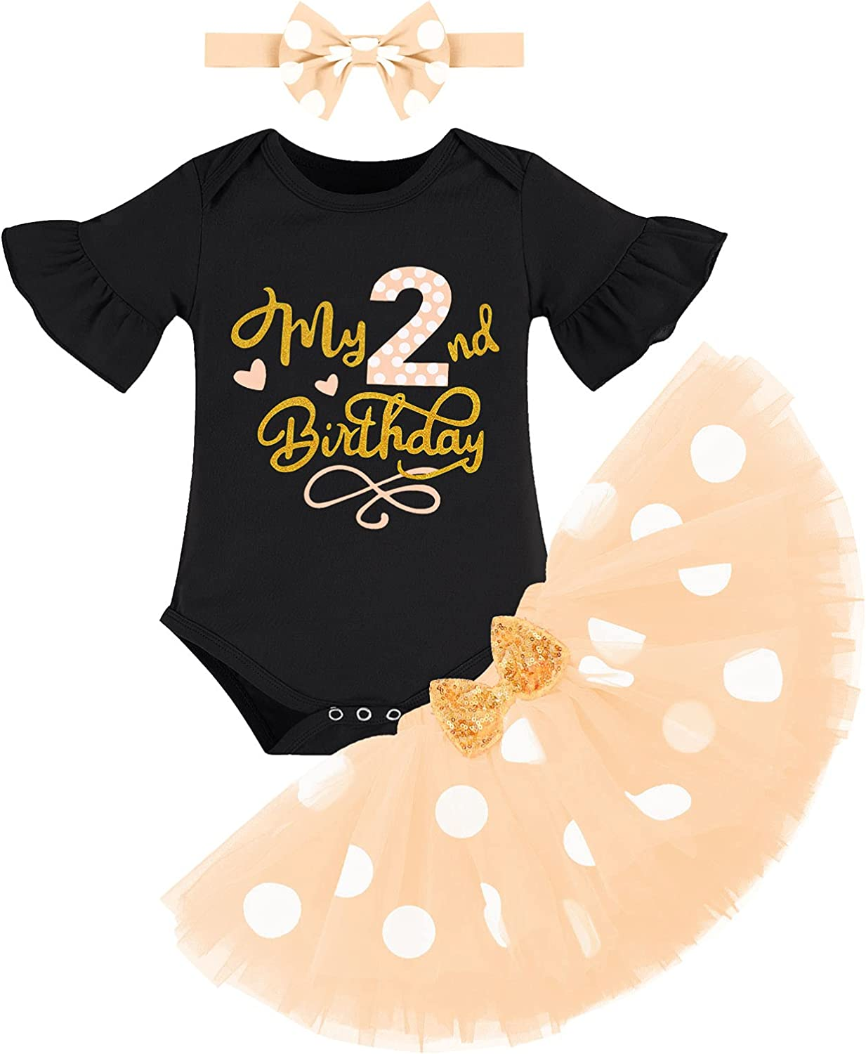 Baby Girls Limited Special Price It's My 2nd for Outfit Kids Second Ranking TOP8 Birthday
