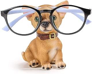 Resin Dog Eyeglass Holder Display Stand Animal Sunglasses Holder Home Decor, Chihuahua