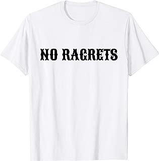 No RAGRETS Funny Misspelled Tattoo T Shirt