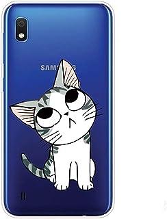جراب شفاف من Mylne لهاتف Samsung Galaxy A10، جراب واقٍ بالكامل من السيليكون المرن الناعم والشفاف والشفاف والرقيق للغاية