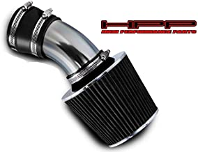 High Performance Parts Short Ram Air Intake Kit & Black Filter Combo Compatible for 98 99 00 01 02 03 04 05 BMW E46 3-Series