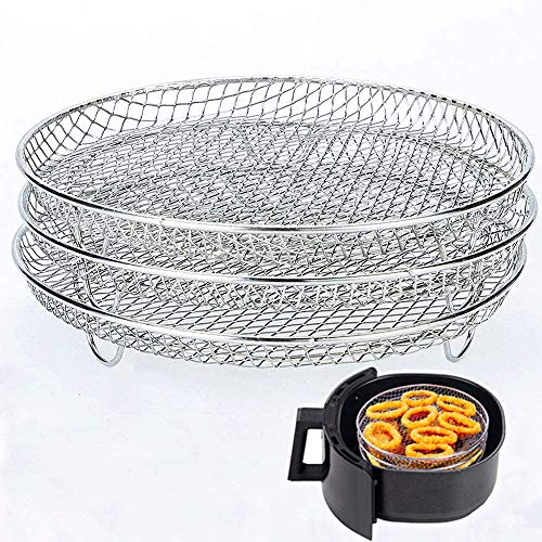 Air Fryer Three Stackable Racks